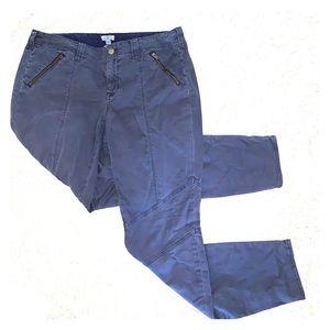 J. Crew Navy Blue Cargo Skinny Pants